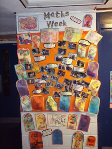 Maths Week display