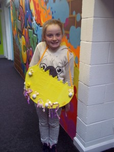 Ellie - Year 3's class winner
