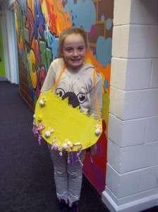 Ellie - Year 3's class winner